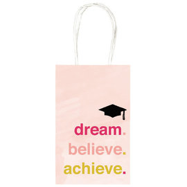 Grad Believe Cub Gift Bag