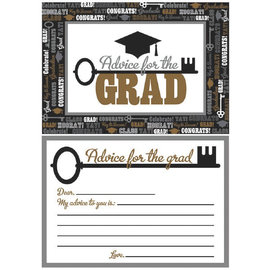 Graduation Advice Cards 24ct