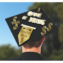 Game of Loans Grad Cap Decorating Kit