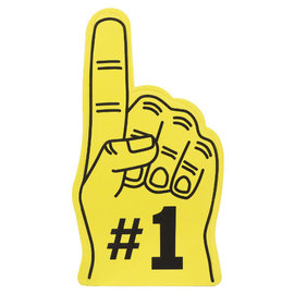#1 Fan Finger - Yellow