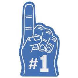 #1 Fan Finger - Blue