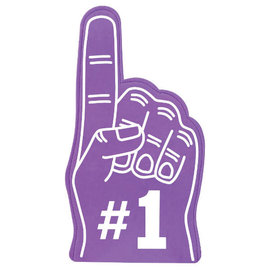 #1 Fan Finger - Purple