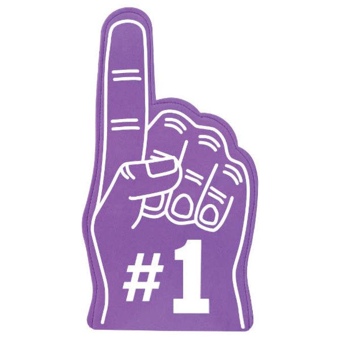 #1 Fan Finger - Purple