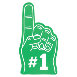 #1 Fan Finger - Green