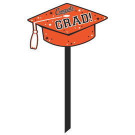 School Colors Yard Sign - Orange