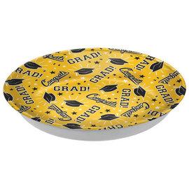 Grad Plastic Bowl - Yellow