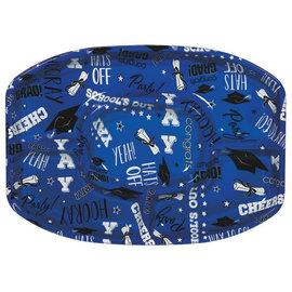 Blue Grad Platter