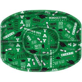 Green Grad Platter