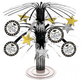 Grad Mini Cascade Centerpiece - Black & White