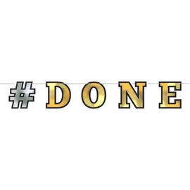 #DONE Foil Letter Banner 12'