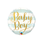 Baby Boy-Blue Stripes, 18""