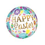 "16"" Happy Easter Eggs Tulip Orbz"