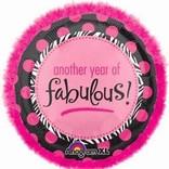 "Boa Another Year of Fabulous Balloon, 32"""