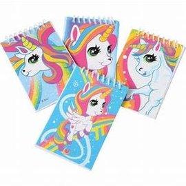Unicorn Notebooks, 12ct