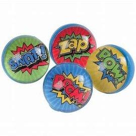 Superhero Bounce Balls, 12ct