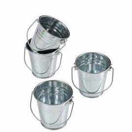 Mini Metal Buckets, 12ct