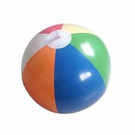 Inflatable Beach Balls - 8 inch