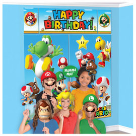Super Mario Brothers™ Scene Setters® With Props