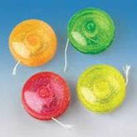 Mini Glitter Yo-Yos, 12ct