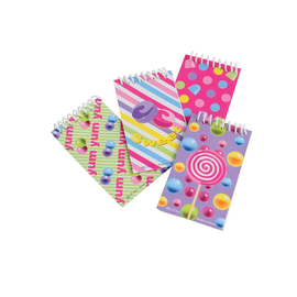 Candy Notebooks, 12ct