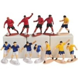 Soccer Player Figures, 12ct