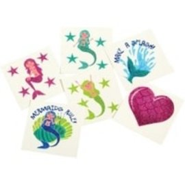 Mermaid Glitter Tattoos, 36ct