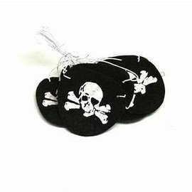 Pirate Eye Patches, 12ct