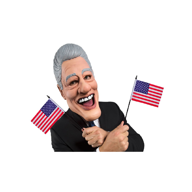 Adult Bill Clinton Latex Mask