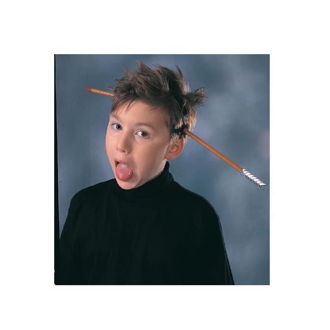 Arrow - Thru - Head Headpiece