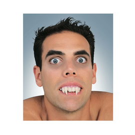 Upper Vampire Teeth with Putty