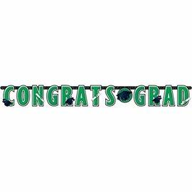 10 ft Giant Grad Banner Green