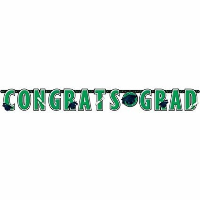 10 ft Giant Grad Banner Green
