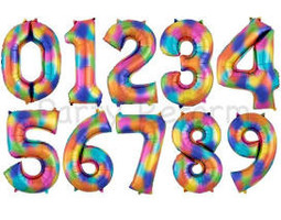 """34"""" Rainbow Numbers"""