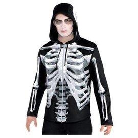 Black and Bone Hoodie- Adult Standard
