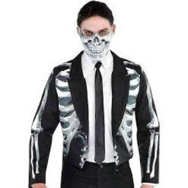Black and Bone Tailcoat Jacket- Men's Standard