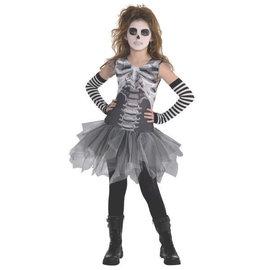 Black and Bone Petitcoat Dress- Child Standard (#276)