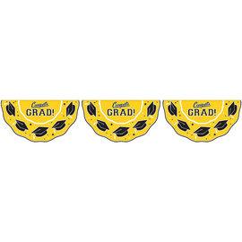 Grad Bunting Garland 11ft. Yellow
