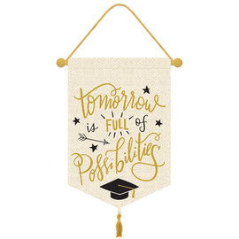 Canvas Graduation Sign