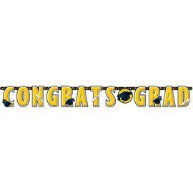 Giant Grad Banner-Yellow-10'