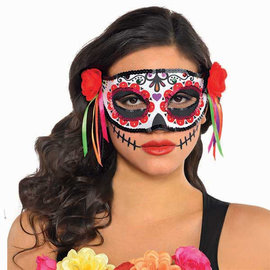 Day of the Dead Fashion Mask