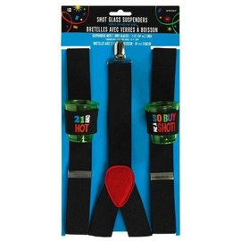 21 Shot Glass Suspenders