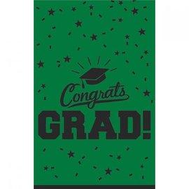 Congrats Grad TableCover- Green