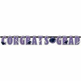 10 ft Giant Grad Banner Purple