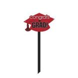 Apple Red Graduation Yard Sign