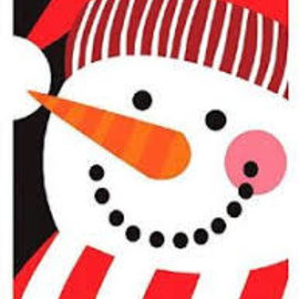 Snowman Buddy Postcard Invitation, 20ct