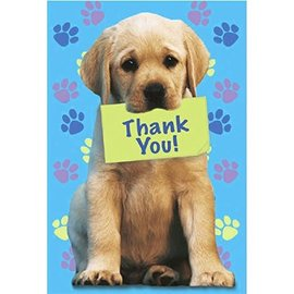 Party Pups Thank You Cards, 8ct - Clearance
