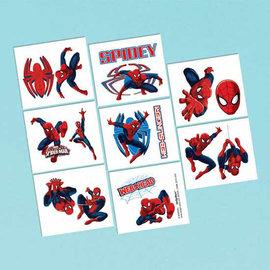Tattoos Spider-Man 16Ct