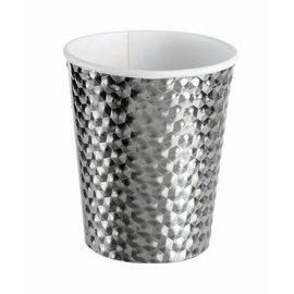 Silver 8 Oz. Cups  - 8 ct