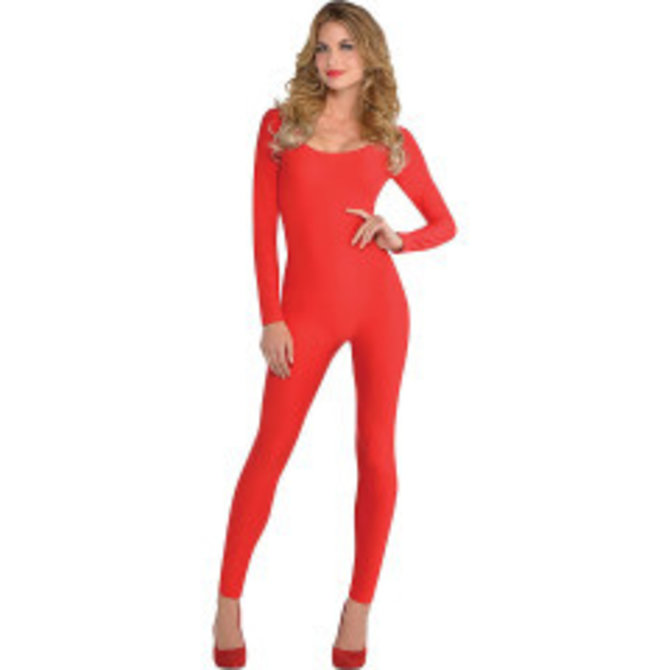 Adult Red Catsuit