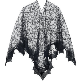 Enchanted Spider Web Poncho- Adult